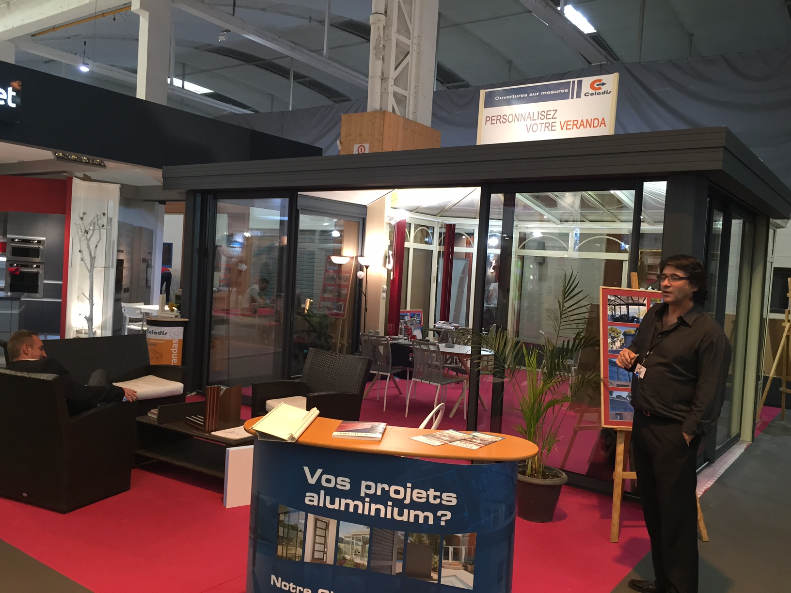 exposant véranda foire expo Nimes 2016