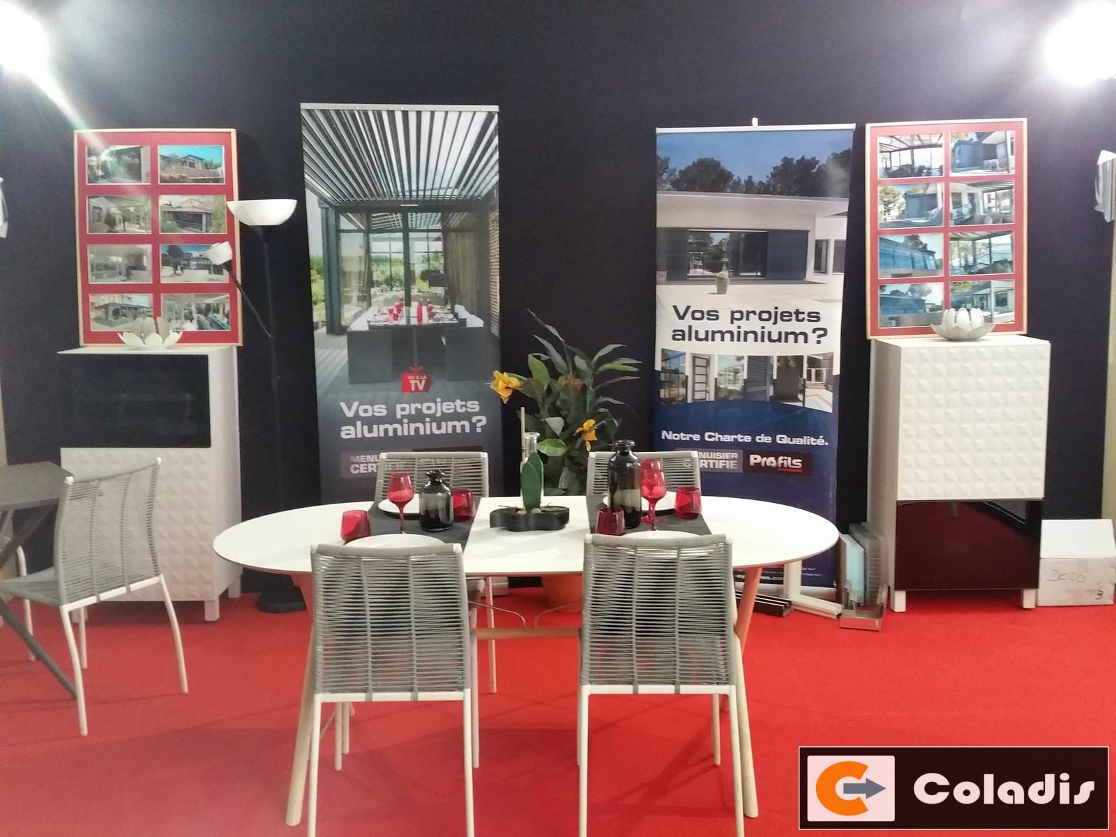 Aménagement véranda exposition Montpellier 2017