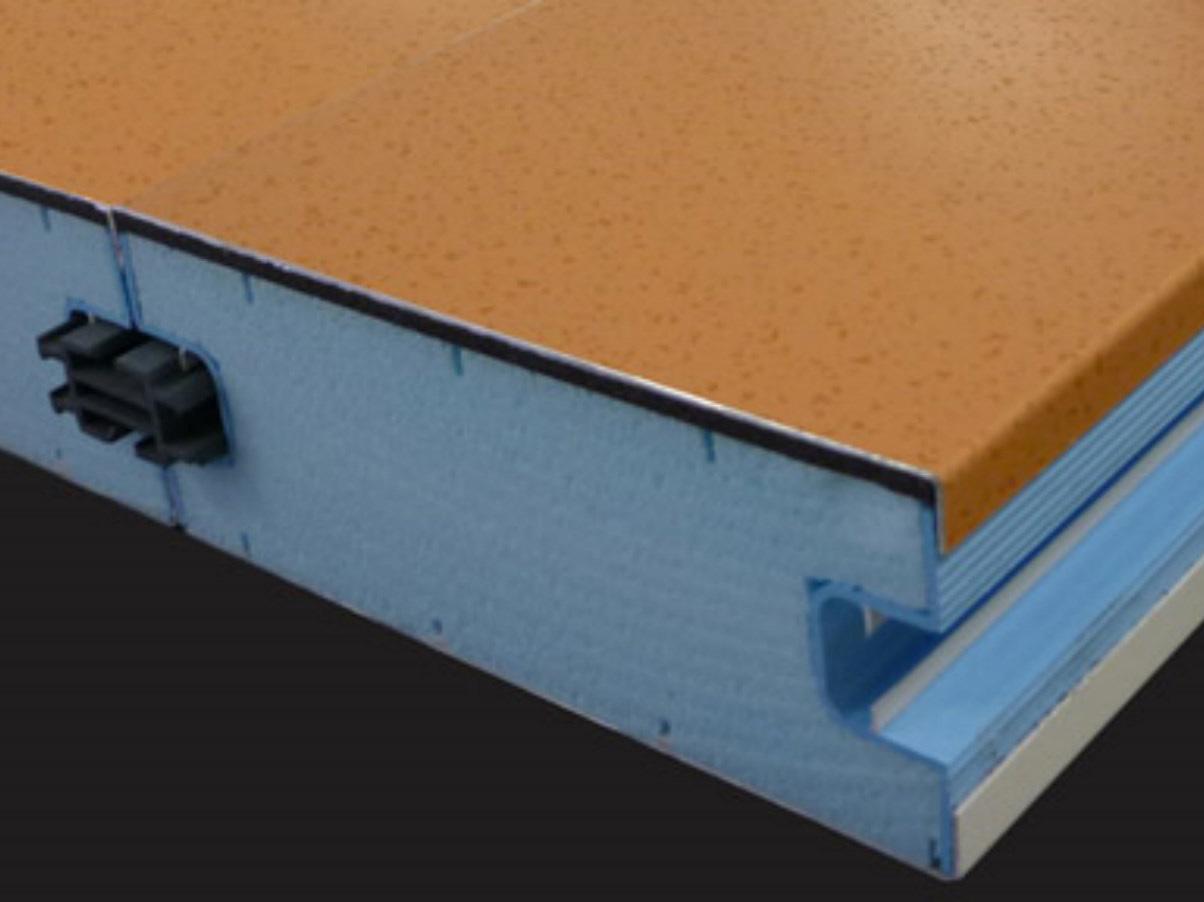 Coladis thermotop panneau aluminium isolant de toiture