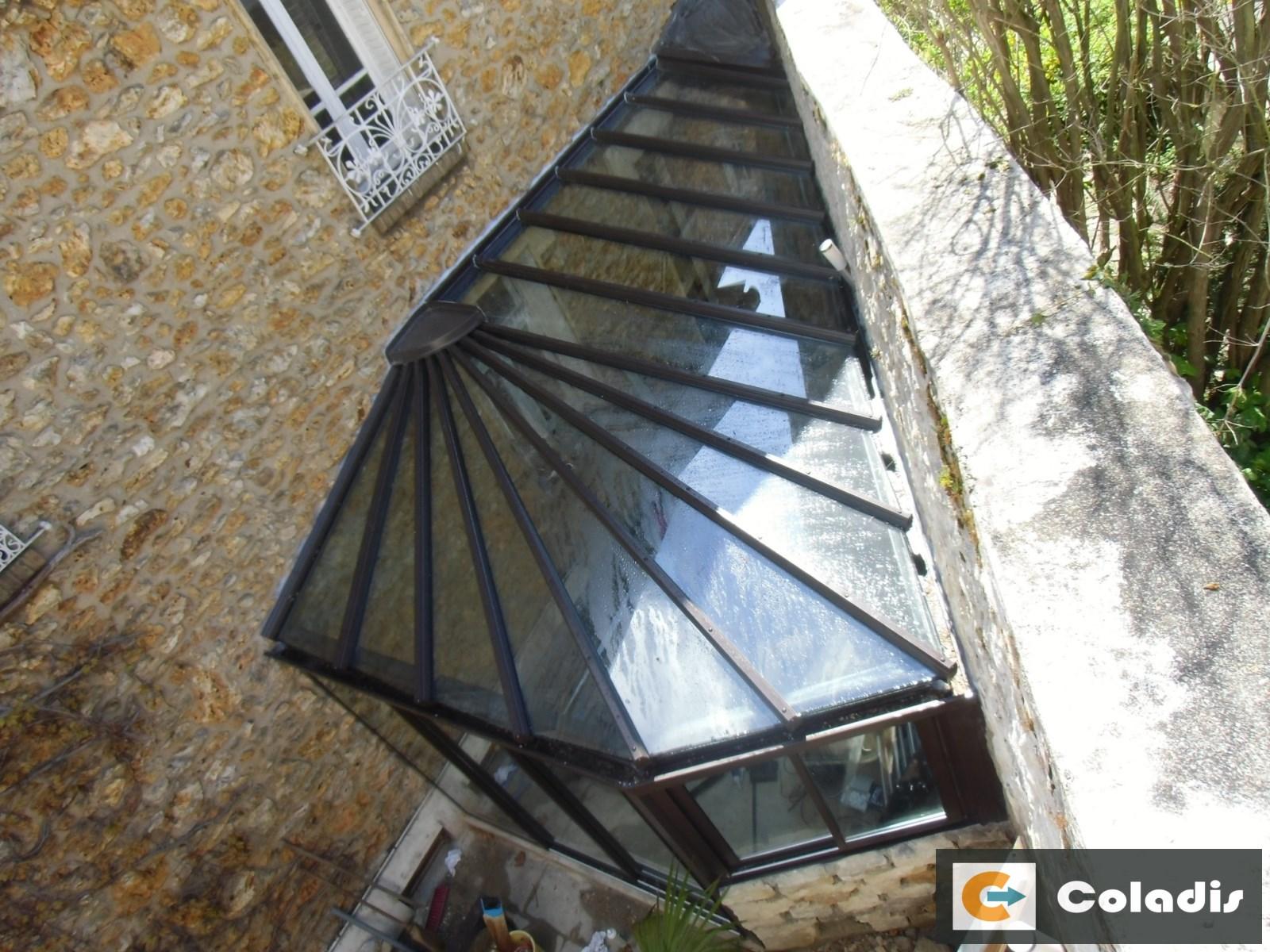 Coladis gestion thermique véranda toiture verre montpellier hérault