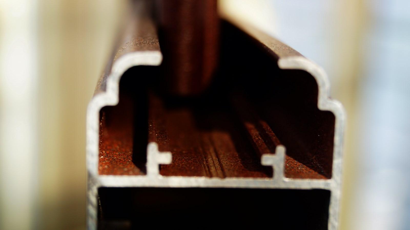 coupe profilé aluminium profils systèmes