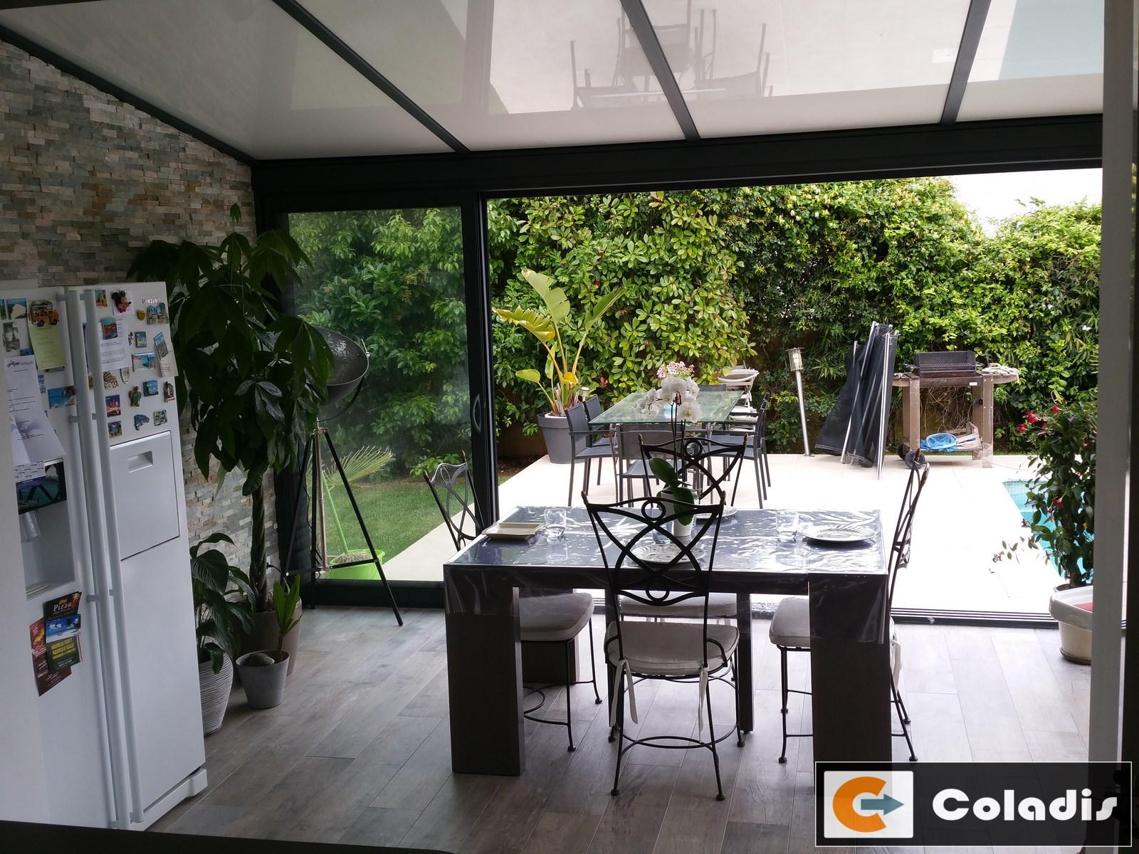 véranda alu Baillargues Hérault 34 Coladis