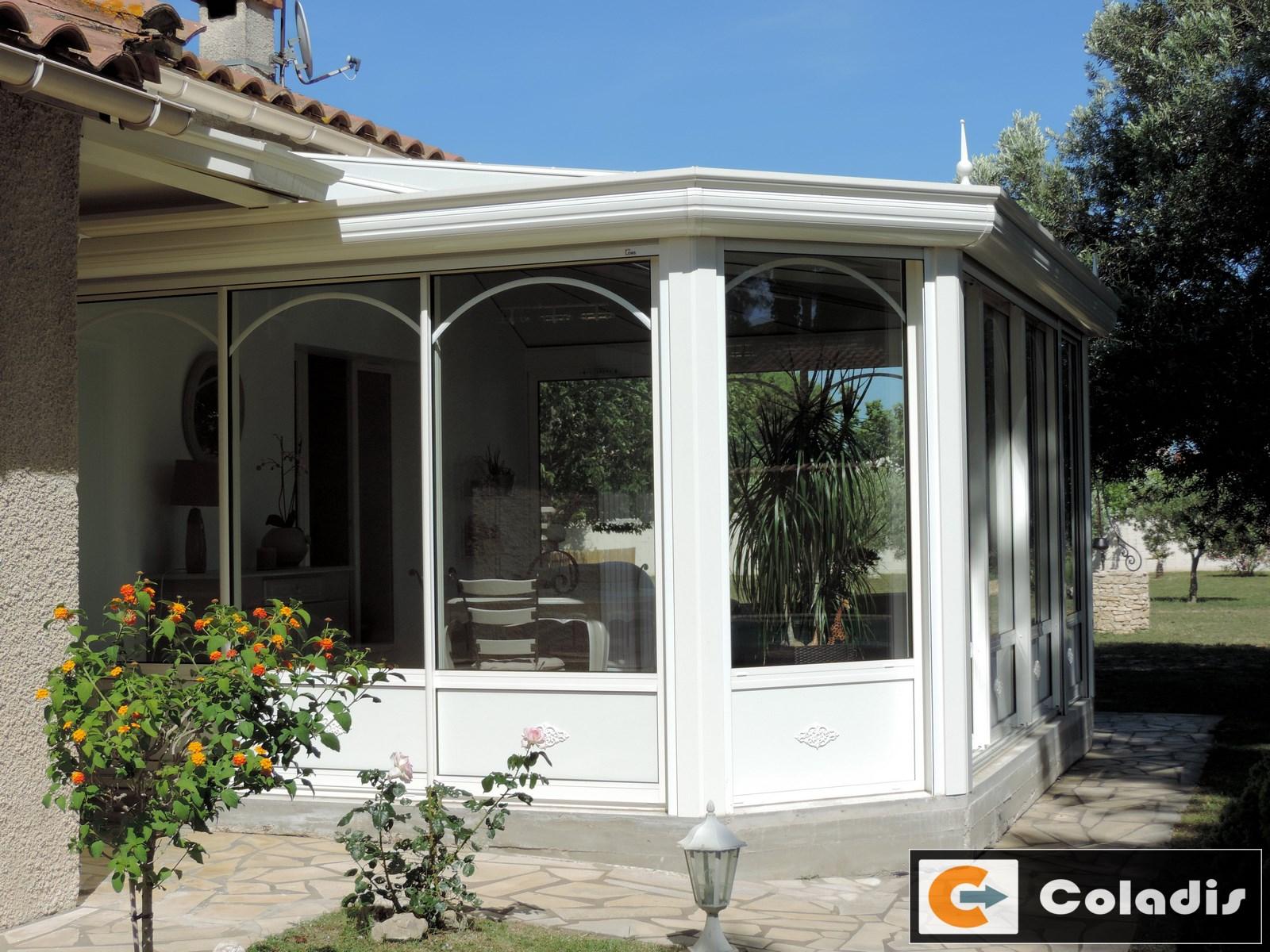 veranda traditionnelle sur mesure COLADIS Hérault 34