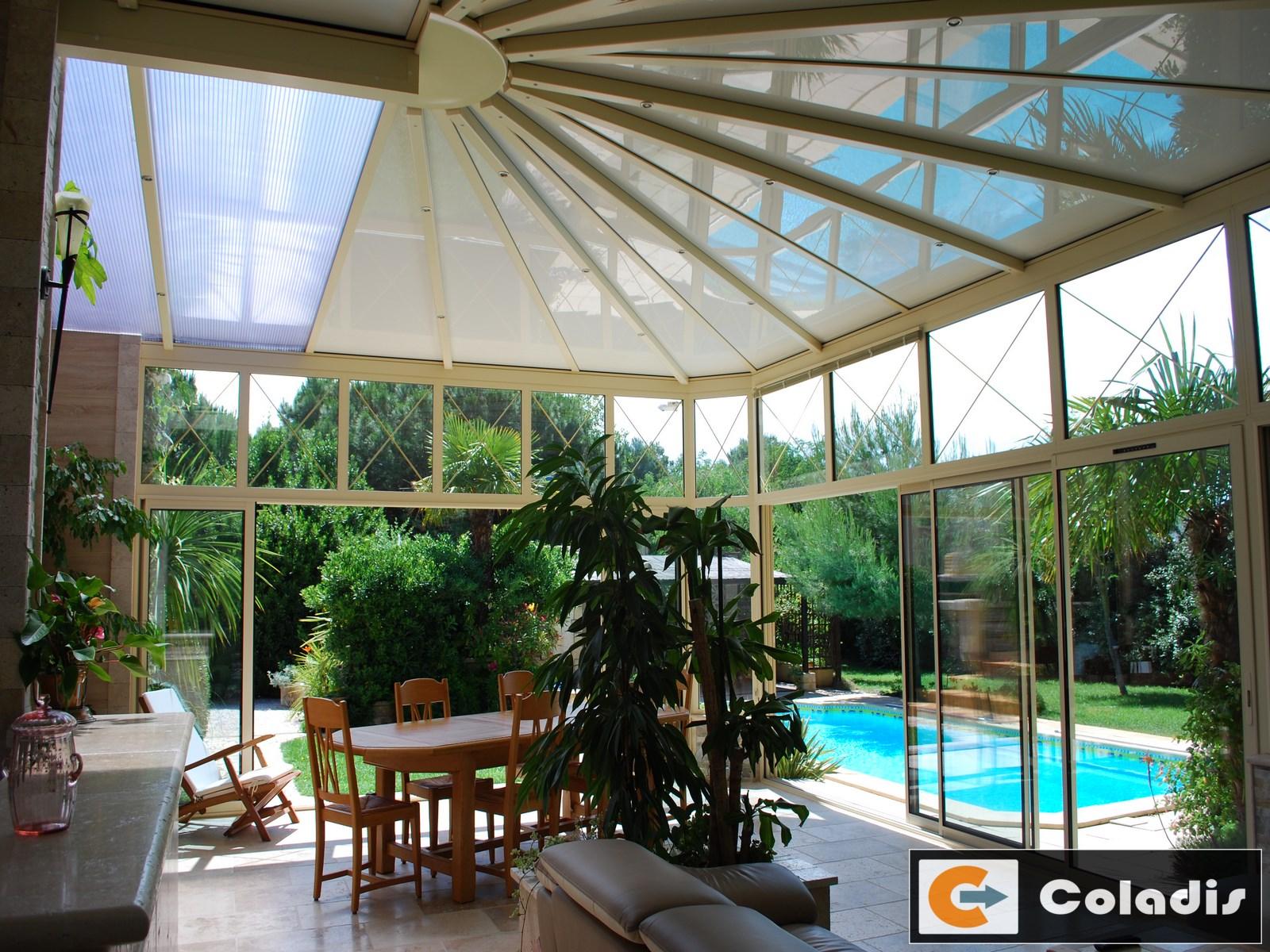 Coladis veranda petit bois Montpellier Hérault 34