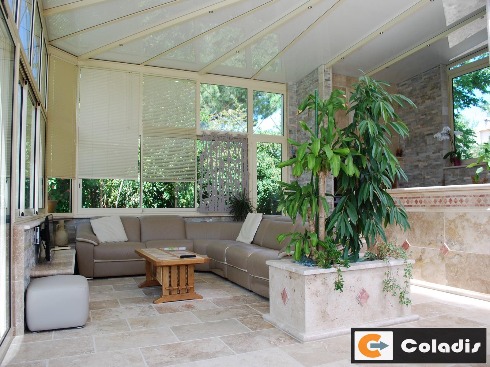 Coladis toiture victorienne polycarbonate Montpellier hérault 34
