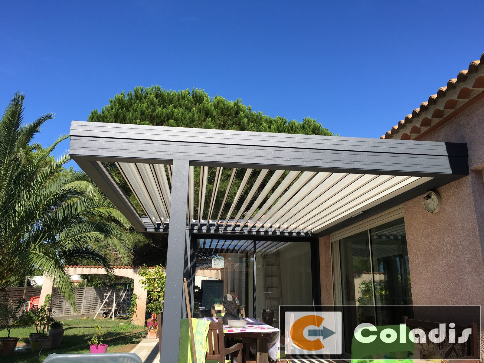 fabrication pergola bioclimatique alu agde 34
