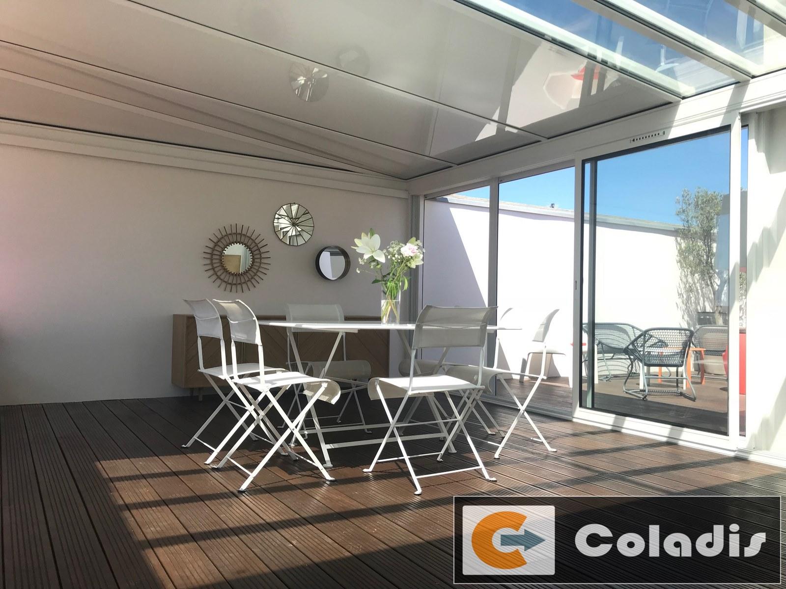 Veranda Metal Et Verre installation de pergola alu à lames orientables pézenas