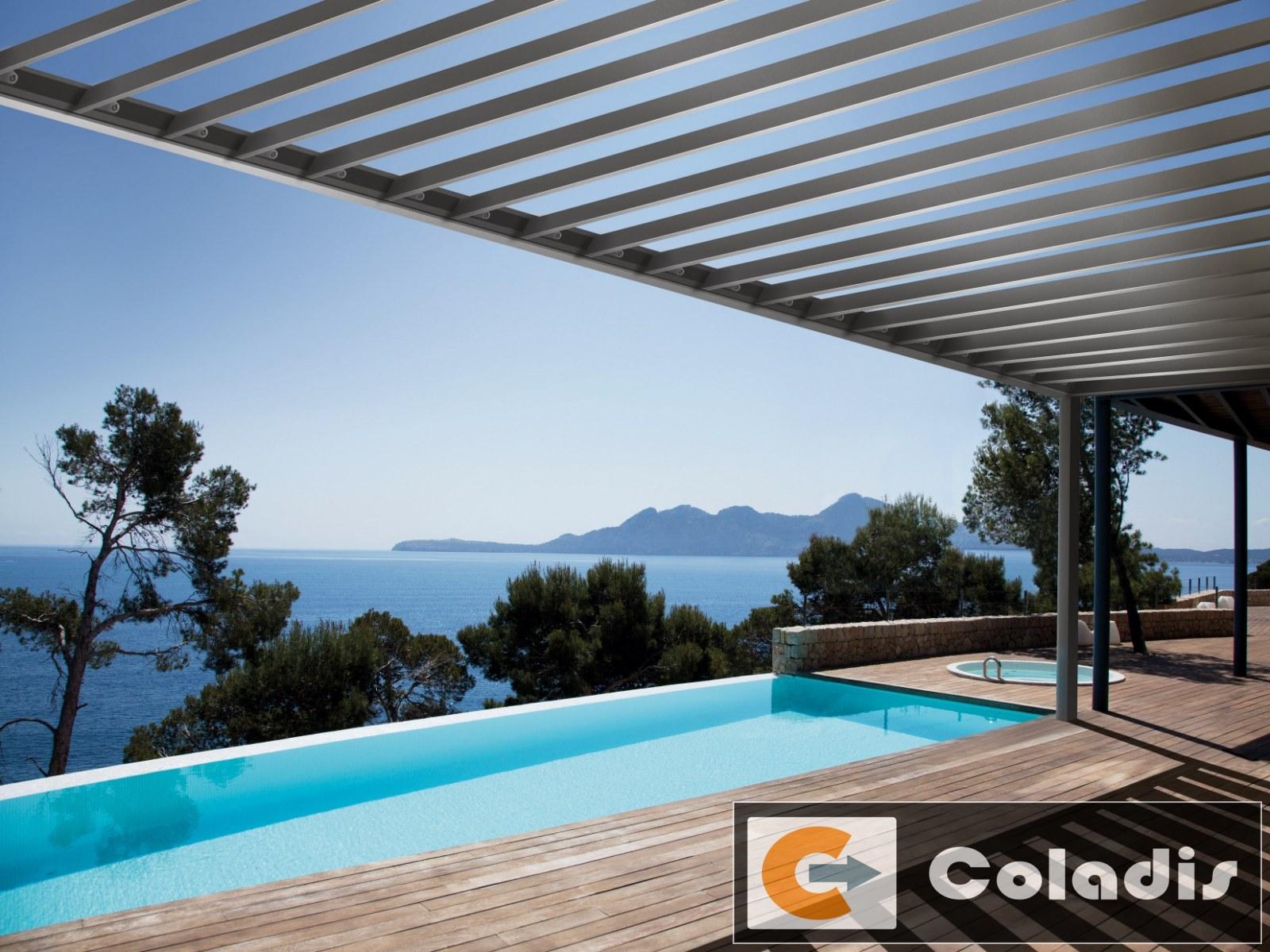 Coladis pergola wallis outdoor profils systemes