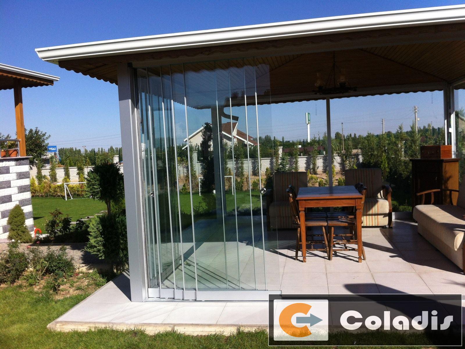 fermeture verre veranda coladis Béziers hérault 34