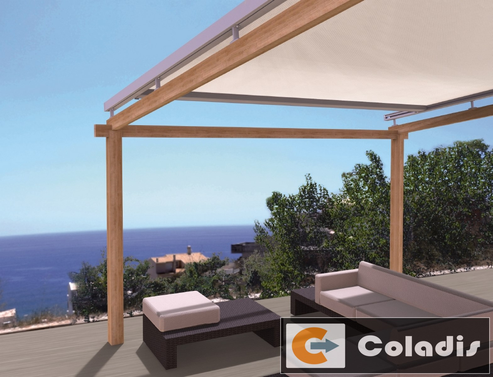 fabricant de pergola alu haut de gamme montpellier coladis. Black Bedroom Furniture Sets. Home Design Ideas