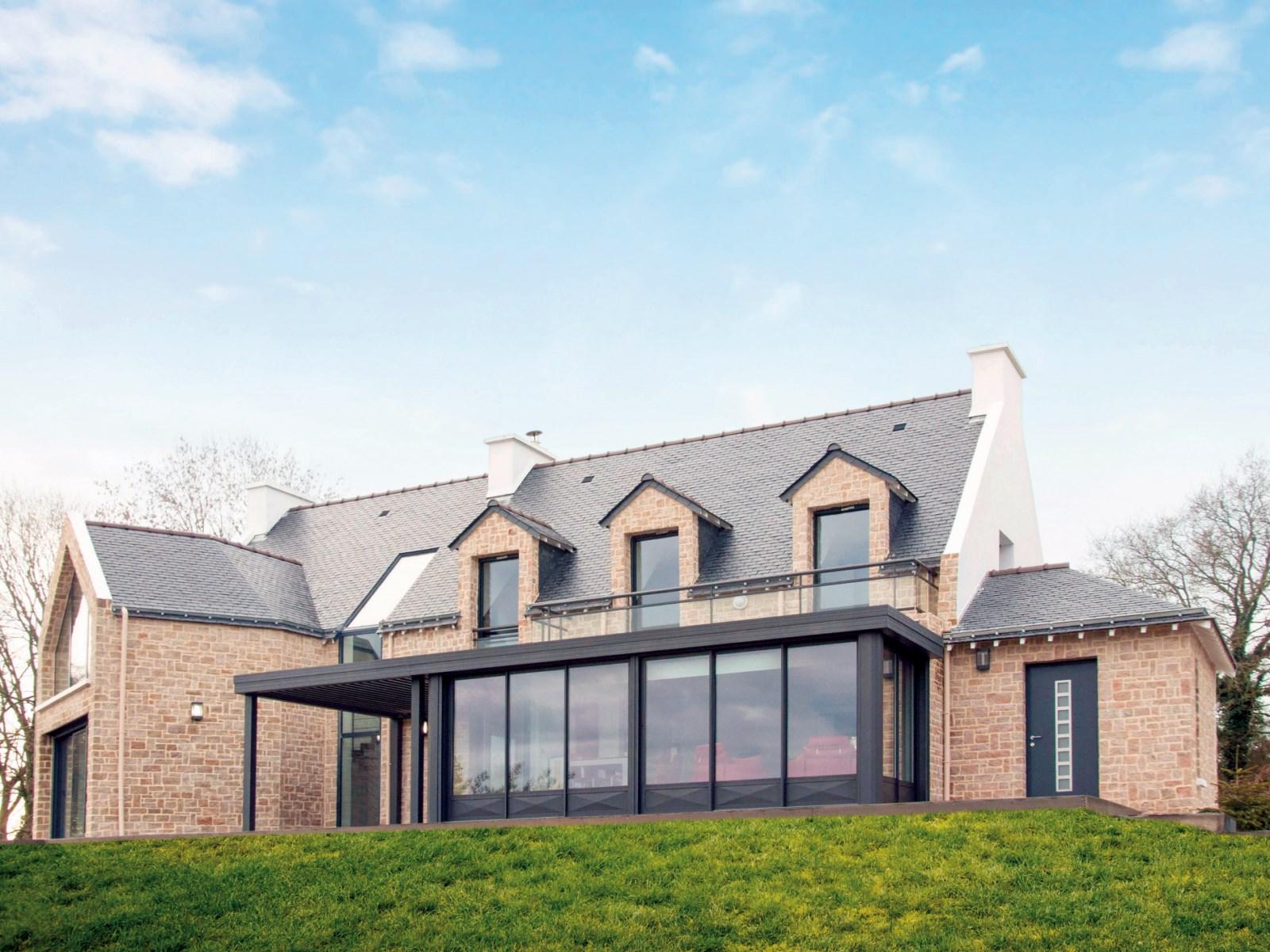 veranda design toiture plate profils systemes