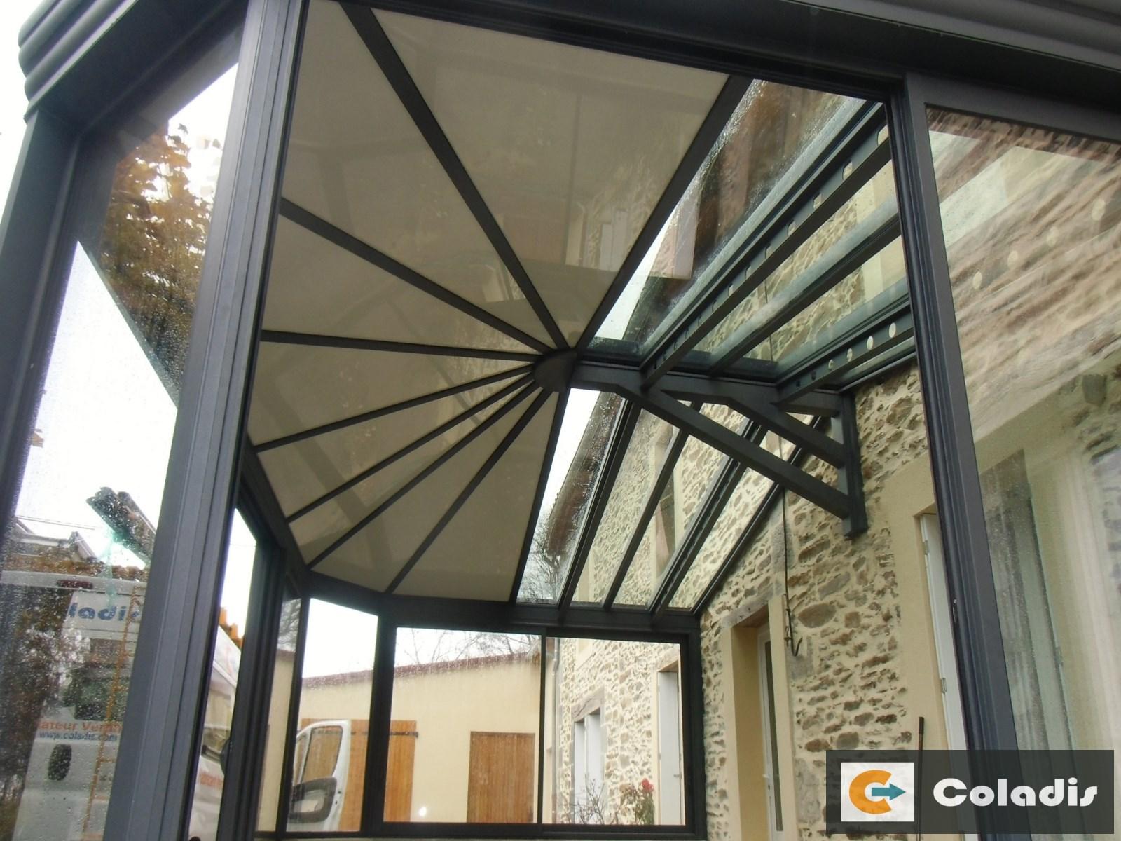veranda style industriel profils systemes