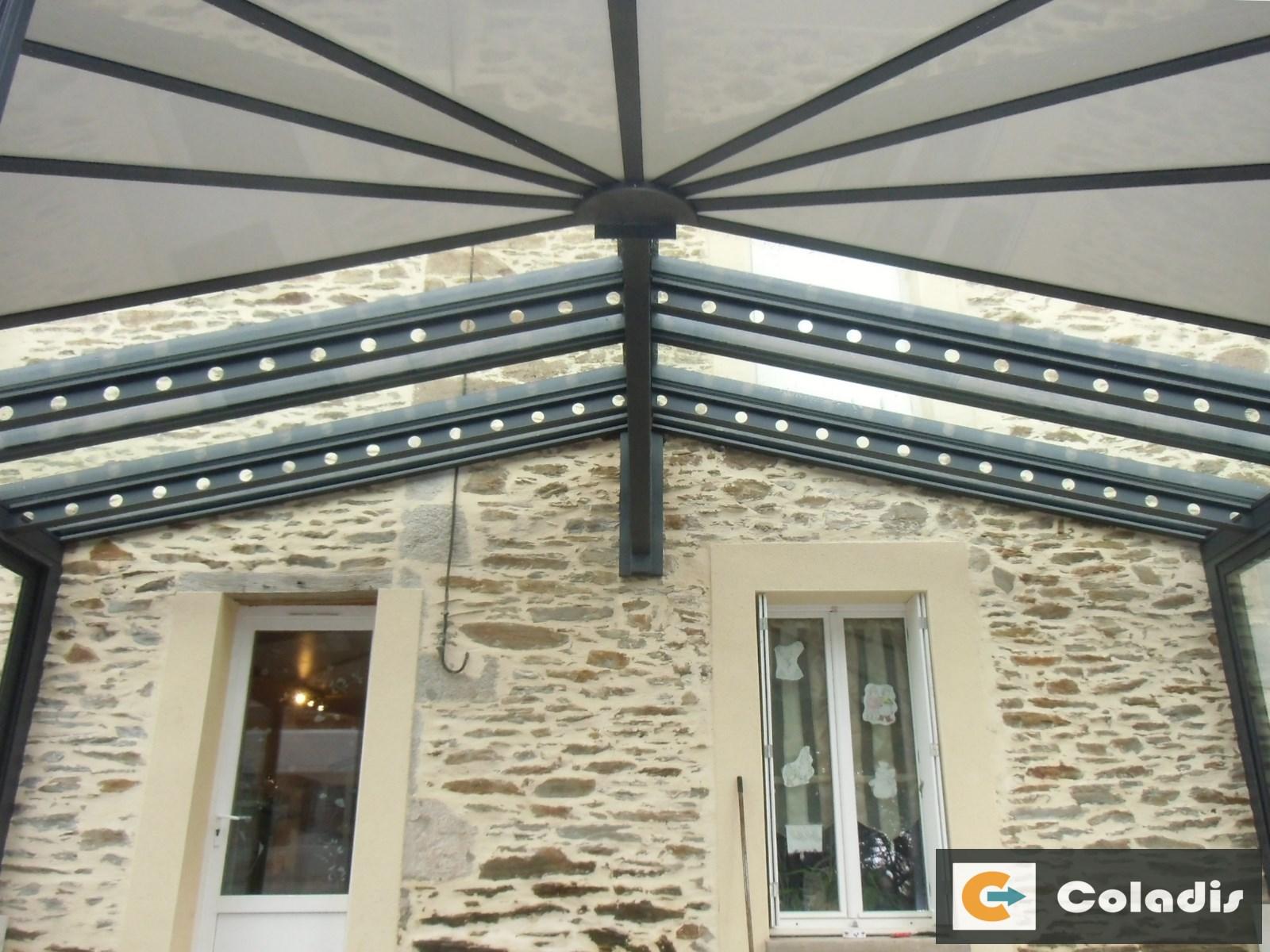 veranda style usine profils systemes montpellier