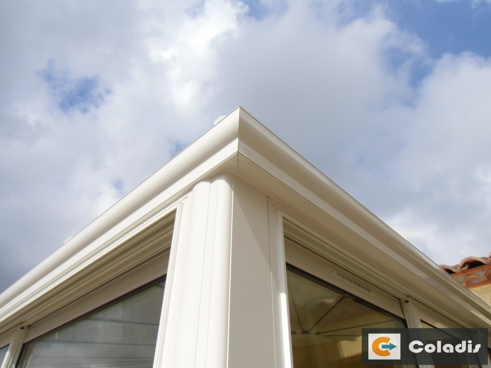 cheneau aluminium galbe moulure veranda herault