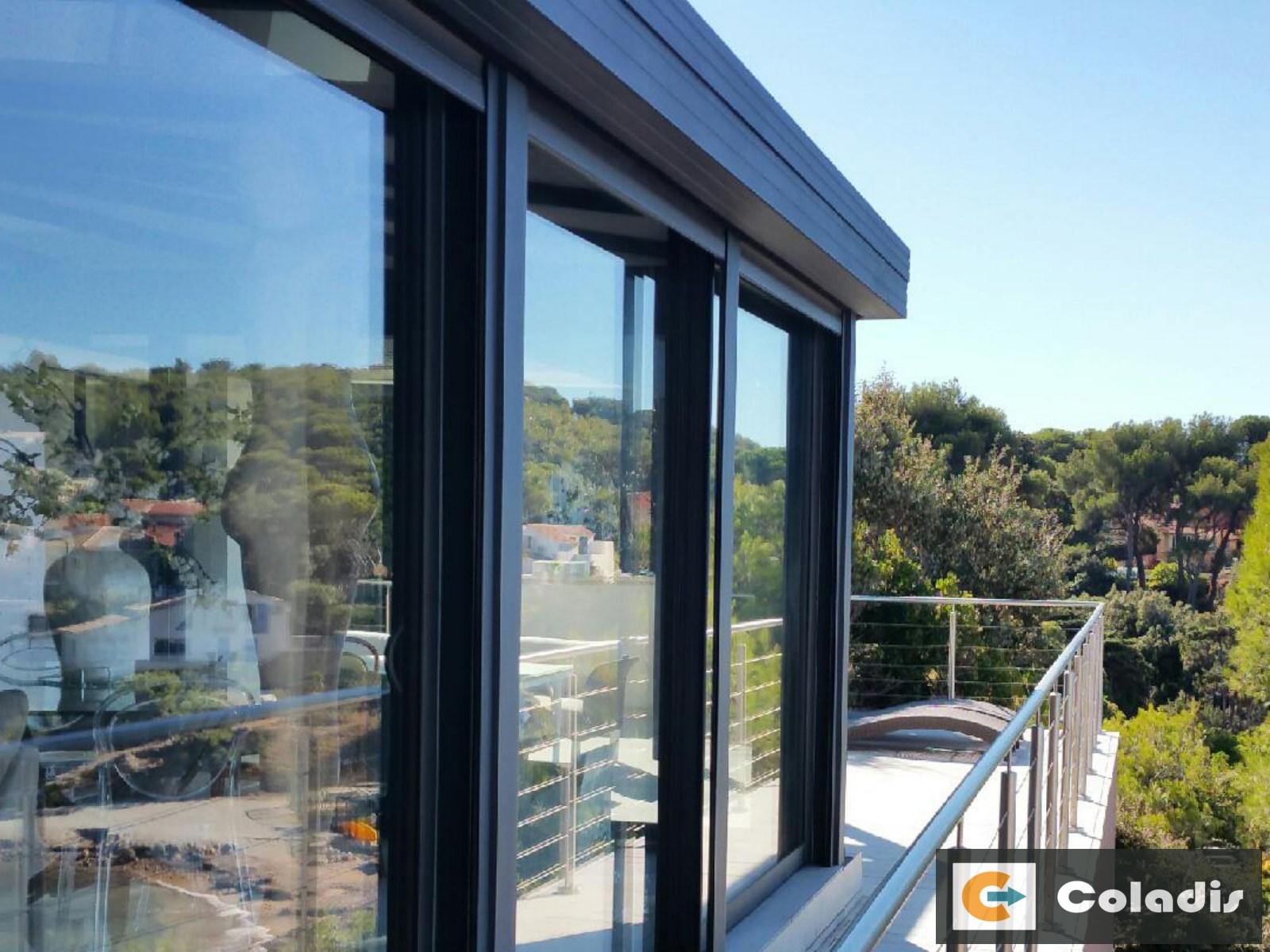 veranda design moderne bord de mer toulon var