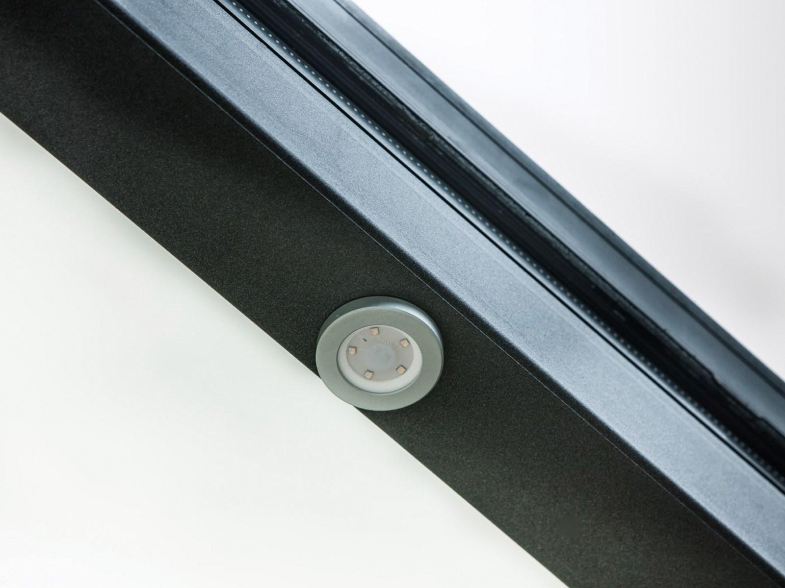 spot led intregre chevron veranda capot profils systemes