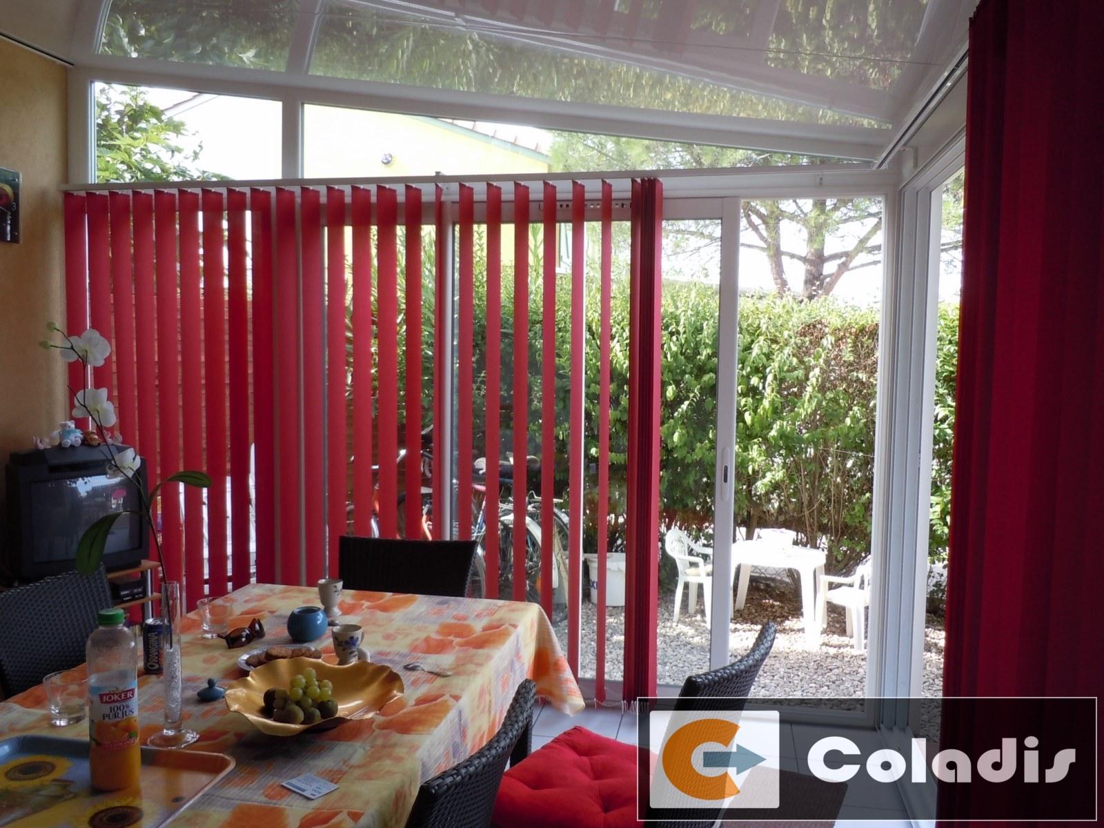 store vertical a lames veranda beziers montpellier herault