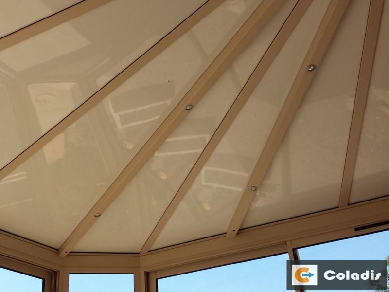 Les panneaux isolants de toiture (thermotop) pour véranda alu sur mesure - Coladis